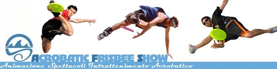 Acrobatic Frisbee Show