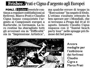 Corriere Romagna - July 26th, 2011