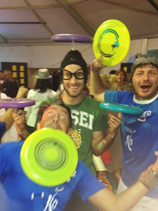 Frisbee Freestyle Party