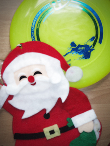 Frisbee Freestyle Christmas
